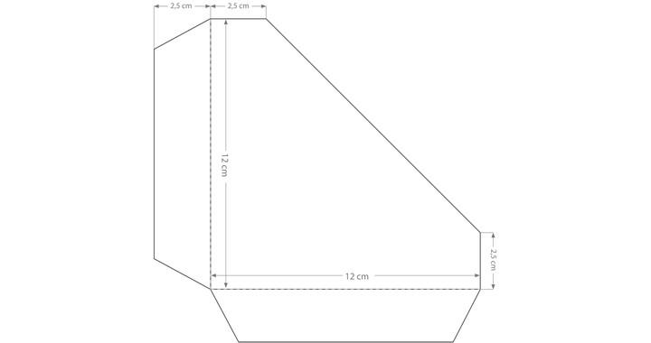 Dreieckstasche
