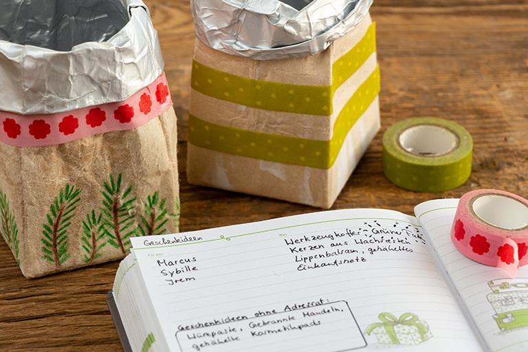 Buchtipps, Geschenkideen, Reiseziele, ... All das kannst du im Kalender in Listen festhalten, um die passenden Ideen zum richtigen Zeitpunkt parat zu haben.